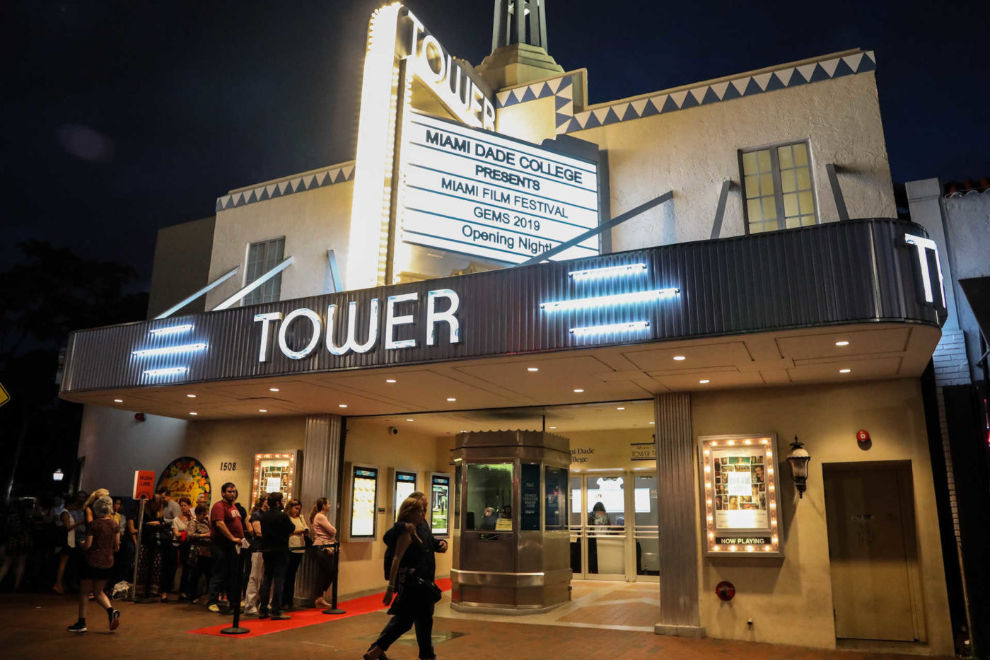 Miami International Film Festival opening at Tower Theater, October 10, 2019
