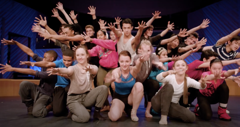 Still frame of YoungArts Dance Winners' Finale