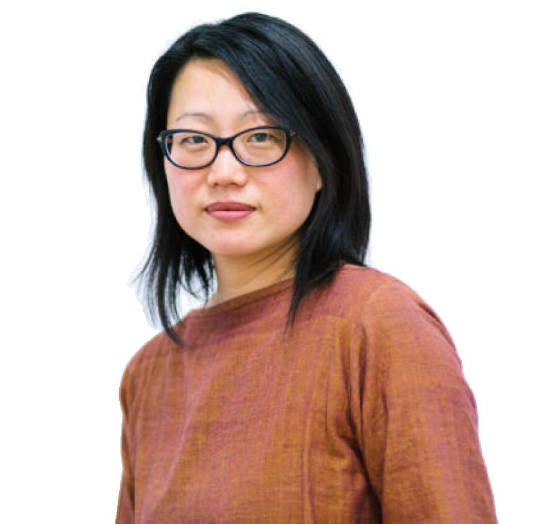 Artist Jean Shin (1990 Visual Arts & U.S. Presidential Scholar in the Arts) headshot